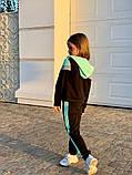 Спортивный костюм для девочки трикотаж двухнитка размер:122,128,134,140,146 см, фото 8