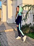 Спортивный костюм для девочки трикотаж двухнитка размер:122,128,134,140,146 см, фото 7