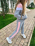 Спортивный костюм для девочки трикотаж двухнитка размер:122,128,134,140,146 см, фото 9