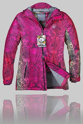 Женская зимняя горнолыжная куртка Volcom (G-14), фото 2