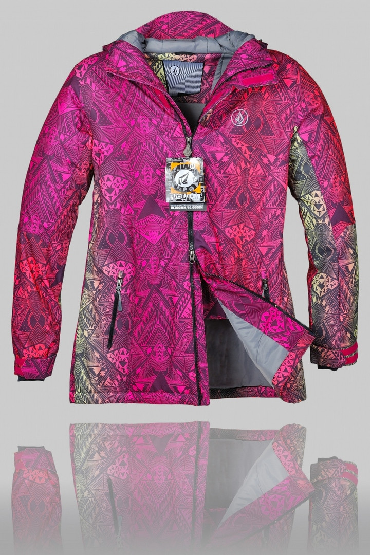 Женская зимняя горнолыжная куртка Volcom (G-14)