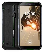 Защищенный смартфон Homtom HT80 NFC IP68 green