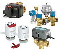 3-ходові крани, приводи і автоматика Afriso, Esbe, Honeywell, Belimo