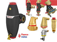 Сепараторы воздуха и шлама, воздухоотводчики, Flamco, Caleffi, Giacomini