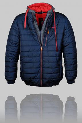 Зимняя спортивная куртка Nike (батал) (Nike batal-1), фото 2