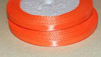 Лента атласная  869 оранжевая  6 мм, фото 1