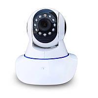 Поворотная записывающая Wi Fi IP камера Wanscam HW0041 SD HD, фото 1