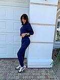Женский спортивный костюм трикотаж двухнить размер: 42, 44, 46, фото 8