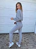 Женский спортивный костюм трикотаж двухнить размер: 42, 44, 46, фото 3