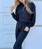 Женский спортивный костюм трикотаж двухнить размер: 42, 44, 46, фото 4