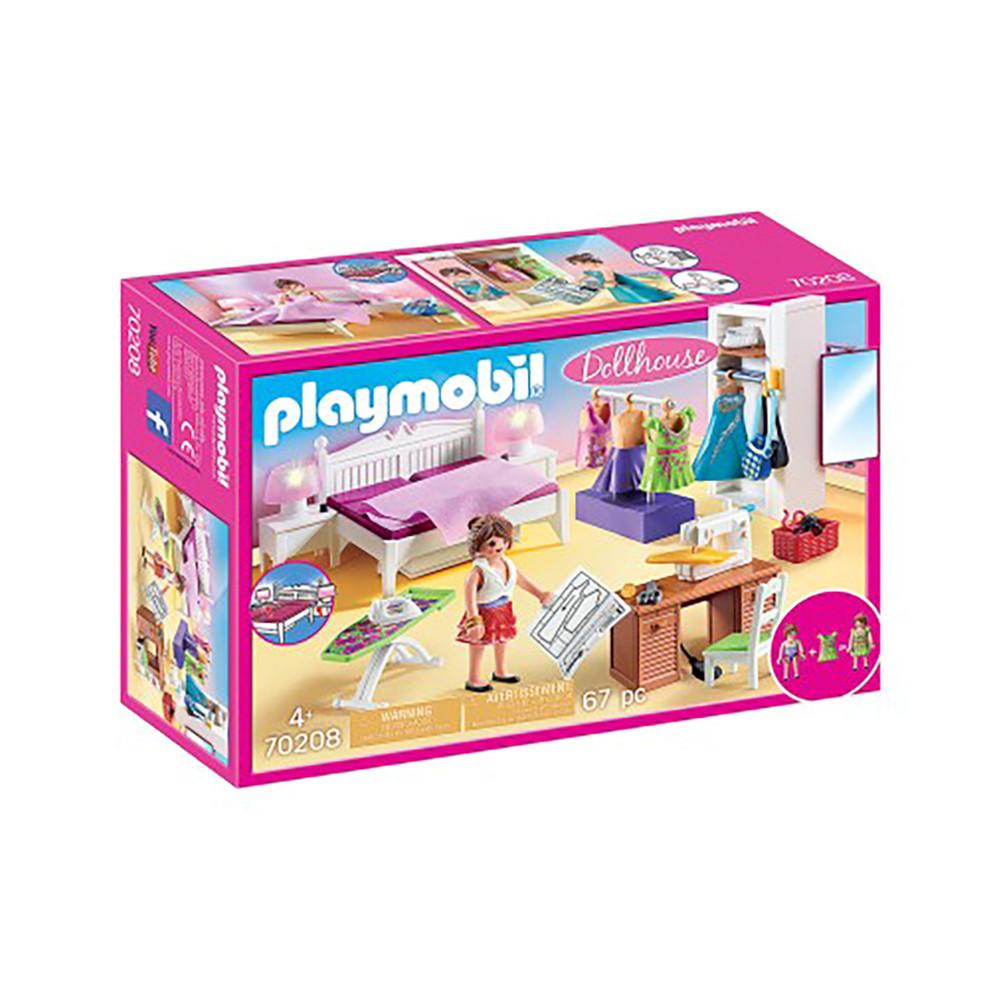 """Ігровий набір """"Спальня зі швейним куточком"""" Playmobil (4008789702081)"""