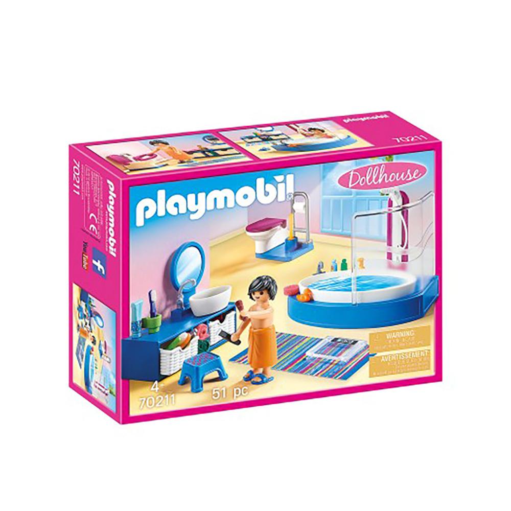 """Ігровий набір """"Ванна з душовою кабіною"""" Playmobil (4008789702111)"""