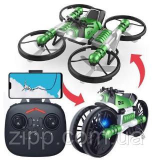 Квадрокоптер-трансформер QY Leap Speed PRO- это небольшой квадрокоптер, который является одним из самых комп