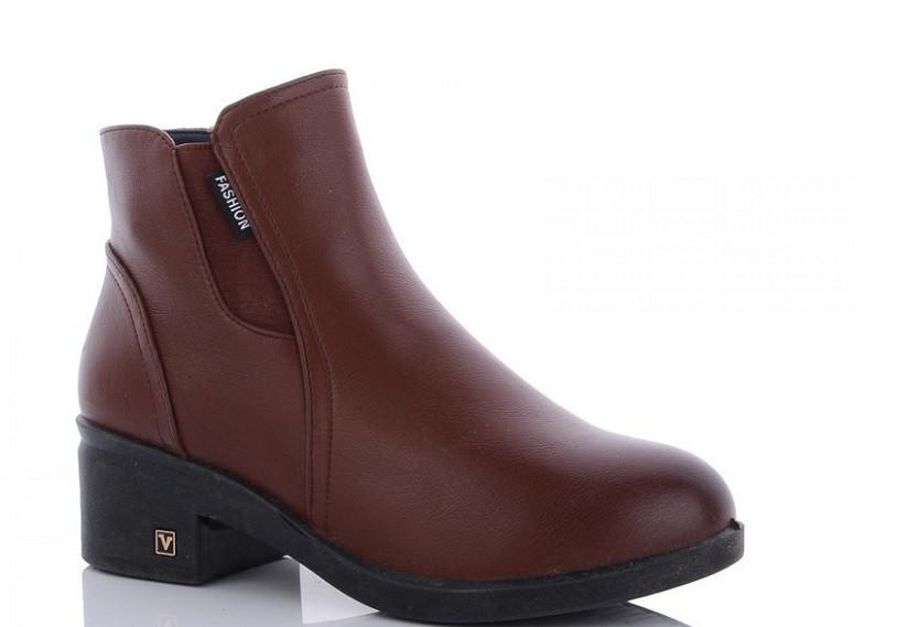 Ботинки женские коричневые WSMR-DB09-3