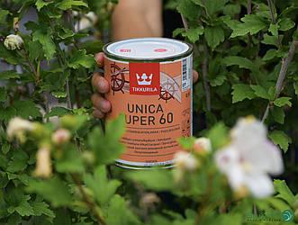 Напівматовий лак Unica Super 60 – Tikkurila (банка 0,9 л)