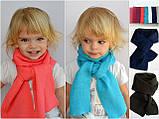 Тонкий шарф длина 120 см ширина 15 см, Разные цвета, фото 3