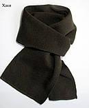 Тонкий шарф длина 120 см ширина 15 см, Разные цвета, фото 5