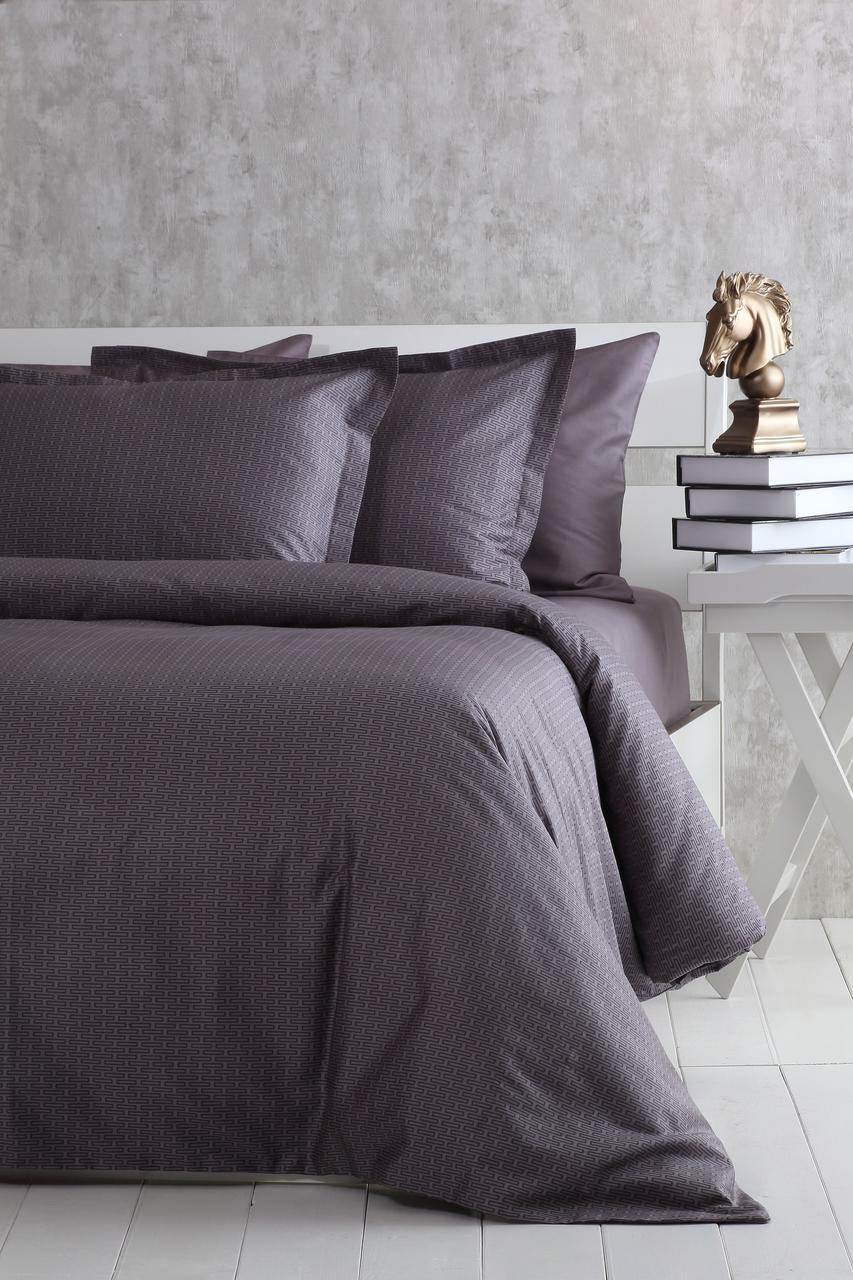 Комплект постільної білизни 160x220 PAVIA ALANZO сірий