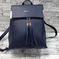 Рюкзак сумка женский синий