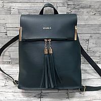 Рюкзак сумка женский зеленый