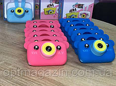 Дитячий цифровий фотоапарат Smart Kids Camera 3 Series 20MP Full HD 1080P (Pink Bear), фото 2