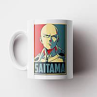 Чашка Сайтама Ван Панч Мен. Аніме. Saitama One Punch Man Чашка з фото, фото 1