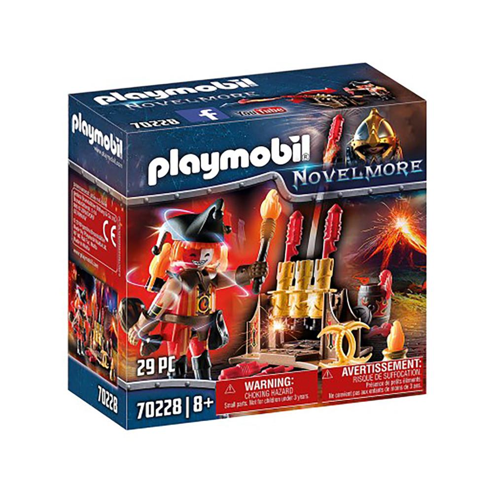 """Игровой набор """"Мастер огня пиратов Бернхема"""" Playmobil (4008789702289)"""