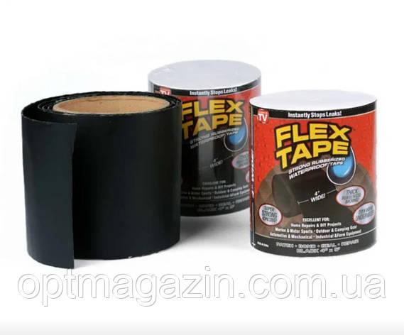 Водонепроницаемая изоляционная клейкая лента скотч 10х150 см Flex Tape, фото 2