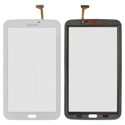 Тачскрин (сенсор) для планшета Samsung T2110 Galaxy Tab 3 версия Wi-Fi белый, фото 2