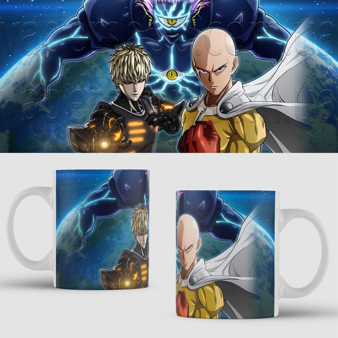 Чашка Ван Панч Мен Сайтама. Аниме. Saitama One Punch Man Чашка с фото