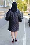 Женское плащевое демисезонное пальто Ricco Джем, фото 4