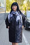 Женское плащевое демисезонное пальто Ricco Джем, фото 3