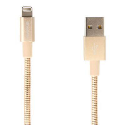 Дата кабель USB 2.0 AM to Lightning 1.0m gold Verbatim (48861)