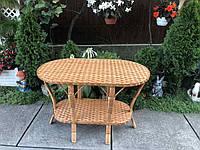 Стол из лозы 120*70, фото 1