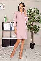 Платье S-163 - розовый: 44,46,48,50, фото 1