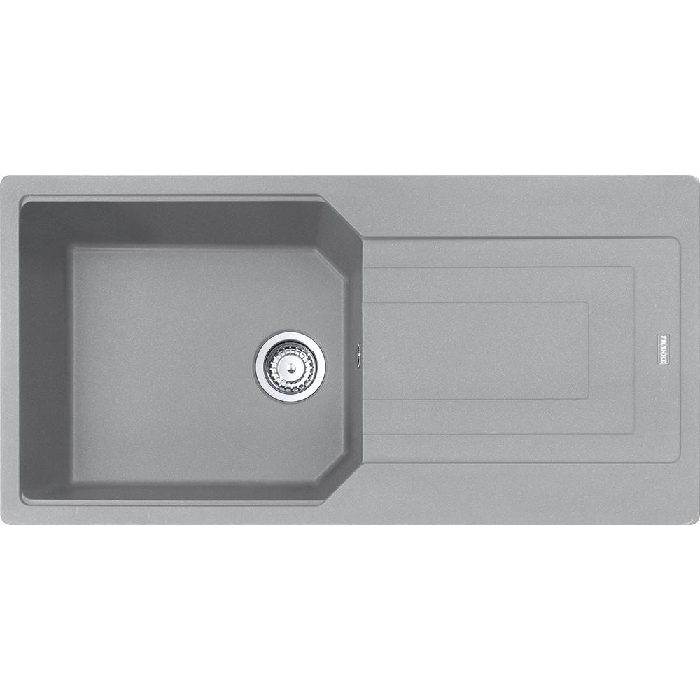 Гранитная мойка Franke Urban UBG 611-100 XL фрагранит серый камень 100*50