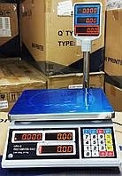 Акция ! Весы с COM портом торговые англ/укр версия Днепровес ВТД Т2 ЖК ( model : APD-QT ), фото 1