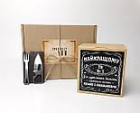 """Подарок для мужчины """"Мужской минимум"""": мультитул-кредитка и печенье с пожеланиями с стиле виски """"Джек Дениелс"""", фото 9"""