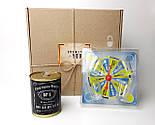"""Смешной подарок мужчине """"Рулетка счастья"""": прикольная игра  и консервированные носки для полного счастья, фото 7"""