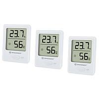 Термометр-гигрометр Bresser Temeo Hygro indicator (3шт) white, фото 1