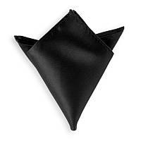 Платок нагрудный мужской черный (30 цветов), фото 1