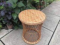 Столик из лозы СПИРАЛЬ, фото 1