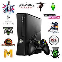 Игровая приставка XBOX 360 Slim 500 gb + 70 Топ игр FREEBOOT