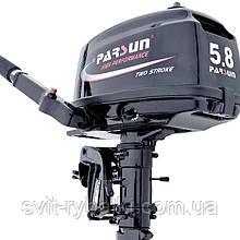 Човновий мотор Parsun Т5.8BMS (5.8 л.с. Короткий дейдвуд)