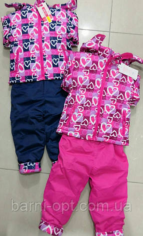 Зимние комплекты для девочек оптом, Cross Fire , 1-5 рр., фото 2