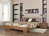 """Двоспальне ліжко """"Титан"""" з бука (щит, масив), фото 2"""