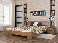 """Двоспальне ліжко """"Титан"""" з натурального дерева бук (щит або масив)"""
