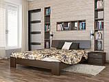 """Двоспальне ліжко """"Титан"""" з бука (щит, масив), фото 3"""