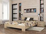 """Двоспальне ліжко """"Титан"""" з бука (щит, масив), фото 4"""