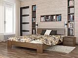 """Двоспальне ліжко """"Титан"""" з бука (щит, масив), фото 5"""